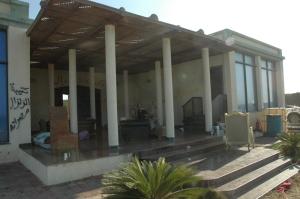 Détendu, sur la propriété de la femme de Kadhaffi