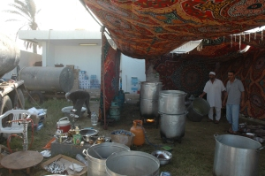 Cuisine campement Shebab Misrata, Tripoli Est